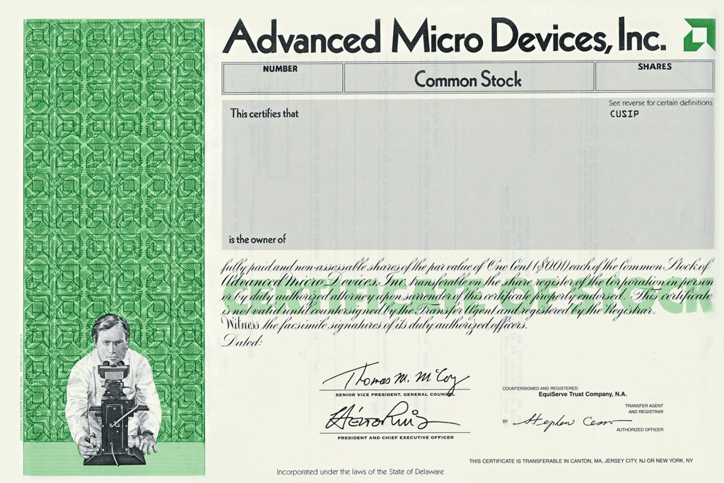 A bibliography of advanced micro devices inc
