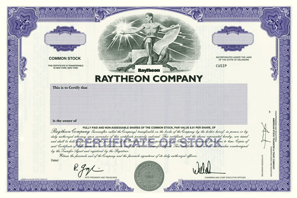 Stock certificates patrick and monica for Share certificate template companies house